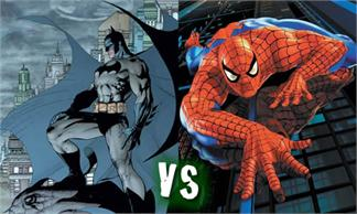 Animación Spiderman vs. Batman