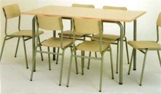 Mesa comedor-estudio infantil 140x75x52