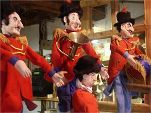 Visita al taller de marionetas