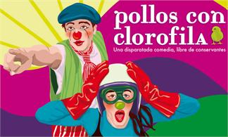 POLLOS CON CLOROFILA