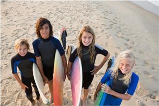 CAMPAMENTO DE SURF CON INGLÉS