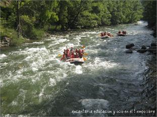 Campamento Verano AventurA en Rialp 2014