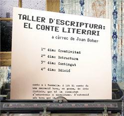 Talleres Escolares-TALLER DE CONTES: EL CONTE LITERARI