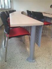 Mobiliario para aulas fijo o escalonadas-1