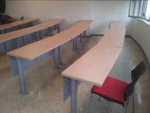 Mobiliario para aulas fijo o escalonadas-2