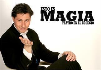 Animaciones y Espectáculos-Esto es Magia, teatro mágico en el colegio