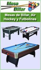 Billares, Futbolines y mesas de ping pong-0