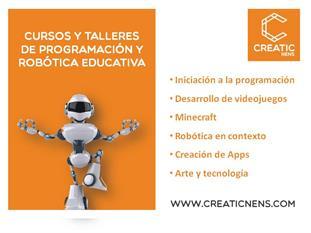 Extraescolares tecnológicos en Barcelona