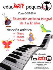 Clases de música, teatro, pintura y otros