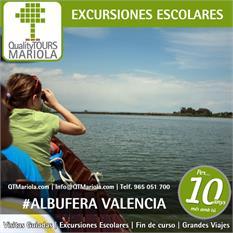 Excursiones escolares Albufera de Valencia