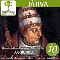 Excursiones escolares Xàtiva y los Borgía