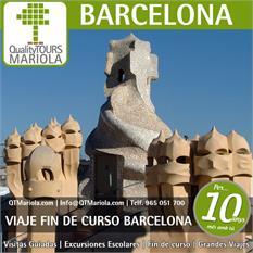 Viaje fin de curso Barcelona