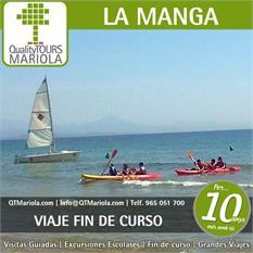 Viaje fin de curso Manga del Mar Menor