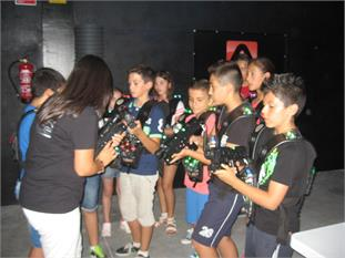 LASER TAG + MUSEO DEL CHOCOLATE