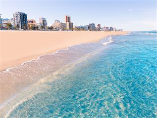 Viaje a Valencia, Mar y arte