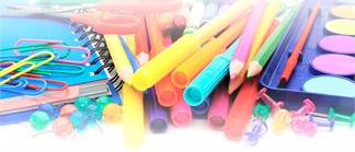 Material escolar para manualidades
