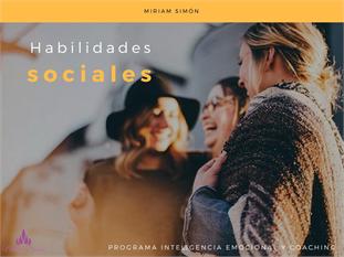 Habilidades Sociales y Convivencia Escolar