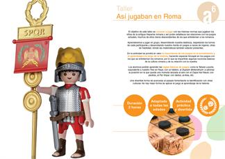 ASÍ JUGABAN EN ROMA