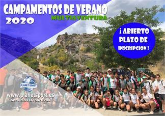 Campamentos Escolares-Campamentos Escolares de Verano MULTIAVENTURA