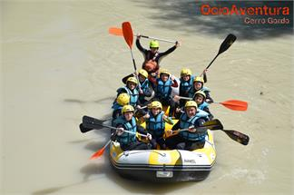 Rafting en río Genil para niños