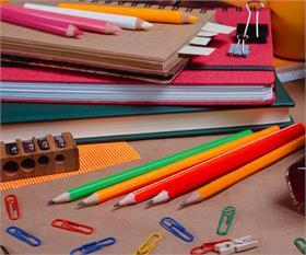 Artículos para oficina y centros de estudio
