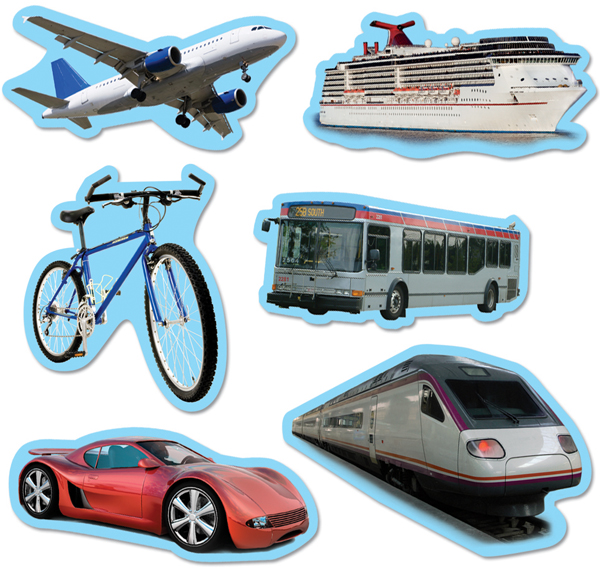 Figuritas de medios de transporte - Imagui