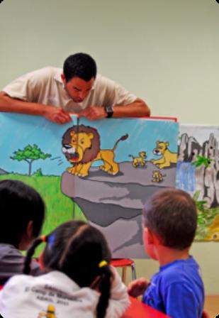 TALLER PARA EDUCACIÓN INFANTIL EN EL ZOO