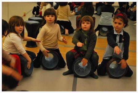 Taller de iniciación a la percusión