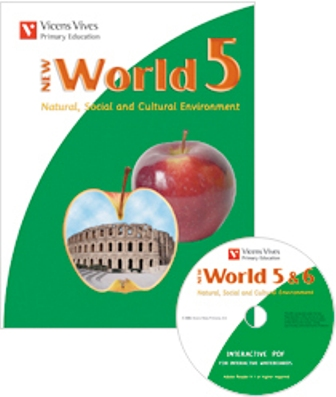 NEW WORLD 5. BOOK + CD