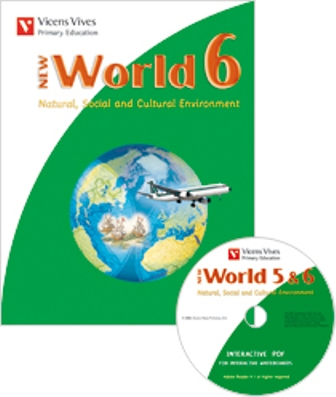 NEW WORLD 6. BOOK + CD