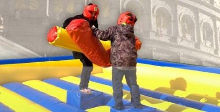 Gladiadores y luchadores de Sumo