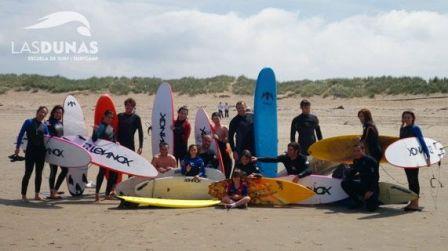 EXCURSIÓN PARA ALUMNOS SURFEROS. 2 DÍAS