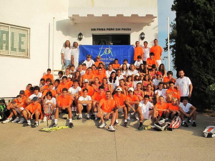 Campamento tenis Eliana 2012