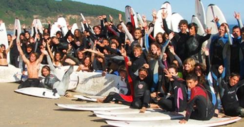 CAMPAMENTO DE SURF EN SEMANA SANTA, 5 DÍAS