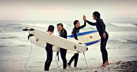 CAMPAMENTO DE SURF EN SEMANA SANTA